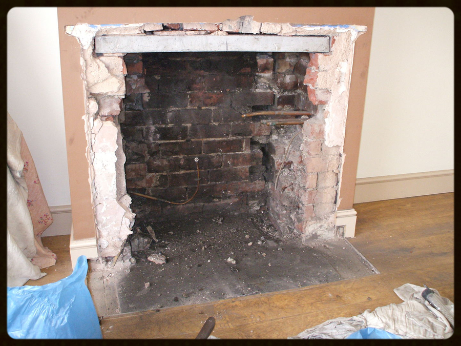 We can open up your fire place to take your new wood stove and liner. We do  all the work from start to finish. New Lintel.. Plastering.. fitting  hearths.. ... - Chim Chimney Sweeps Chimney & Stove Installation Services Kent